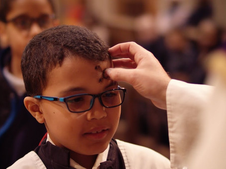Ash Wednesday - the Beginning of Lent