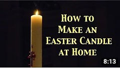 Easter craft - Paschal Candle.jpg
