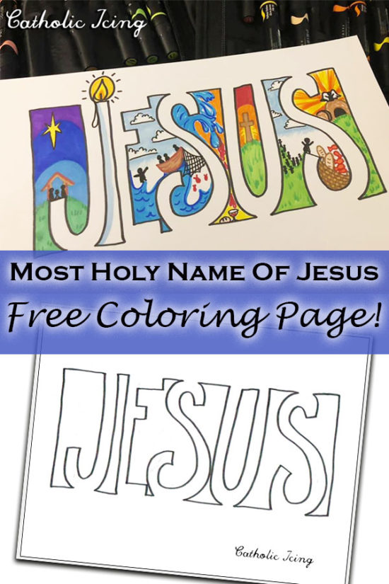Draw the Name of Jesus