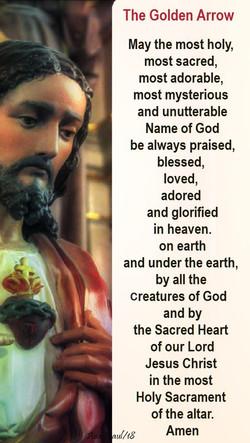 The Golden Arrow Prayer