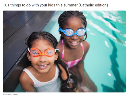 101 things to do with your kids this sum