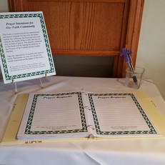 Parish Book of Intentions