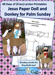 Palm-Sunday-Paper-Doll-Jesus-and-Donkey.