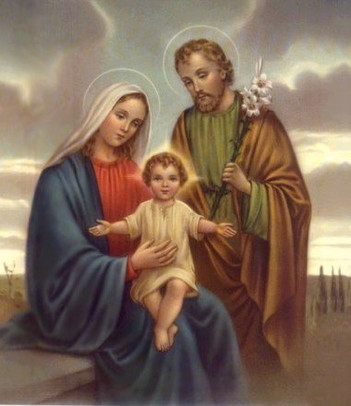 Where does the Holy Family begin?