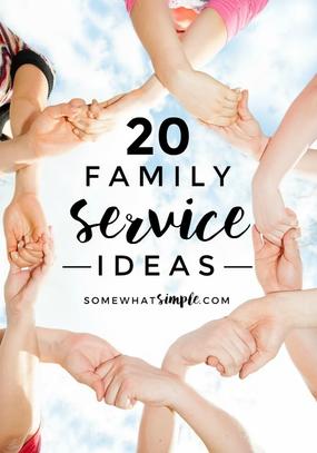 20 Family Service Ideas.