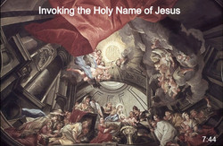 Invoking the Holy Name of Jesus