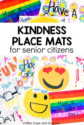 Kindness Place Mats for Seniors