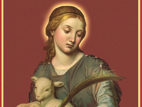 St. Agnes - virgin and martyr