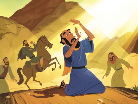 The Conversion of St. Paul - January 25th