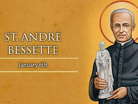 St. André Bessette (Brother André)