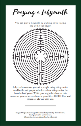 Pray a Labyrinth