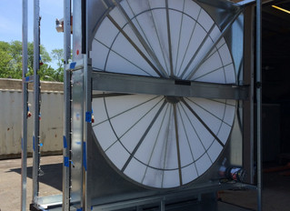 Large Machine, Small Opening: Complex AHU Project Requires Disassembly, Reassembly
