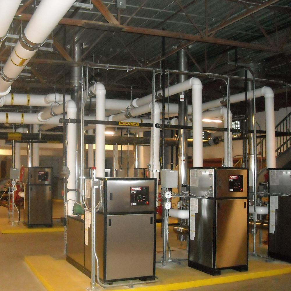 High-efficiency boilers
