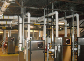 HVAC Optimization: High-Efficiency Chillers and Boilers