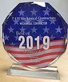 Princeton Award Best Contractor 2019_edi
