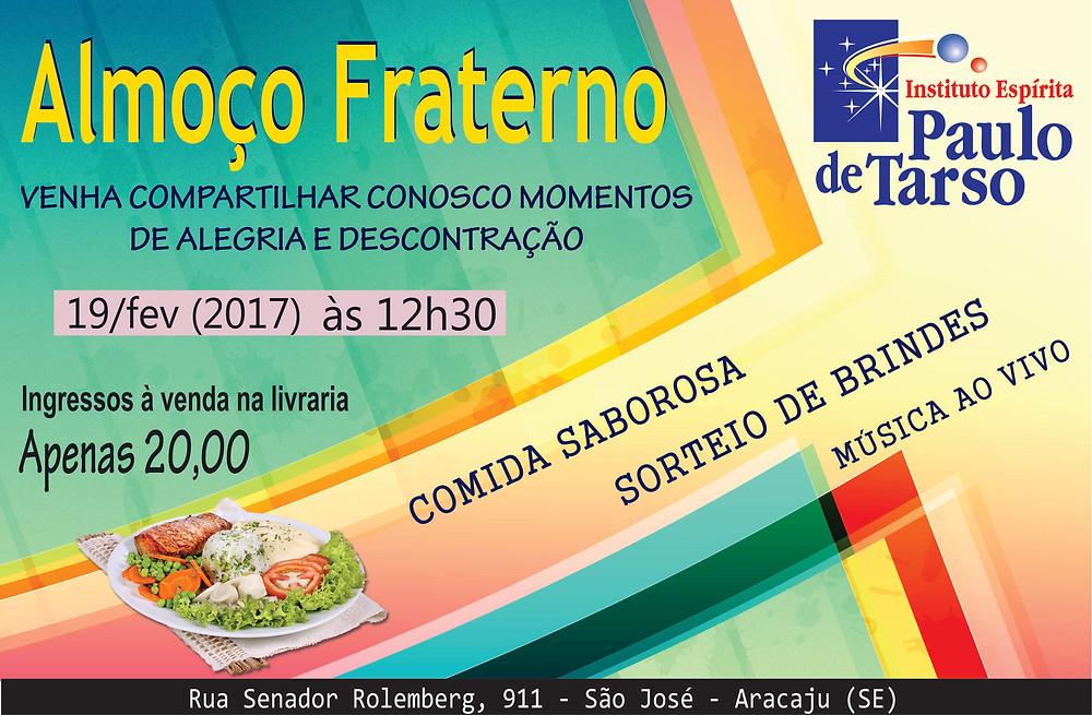 Dia 19 de fevereiro a partir das 12h30 na rua Senador Rolemberg, 911 - bairro São José.