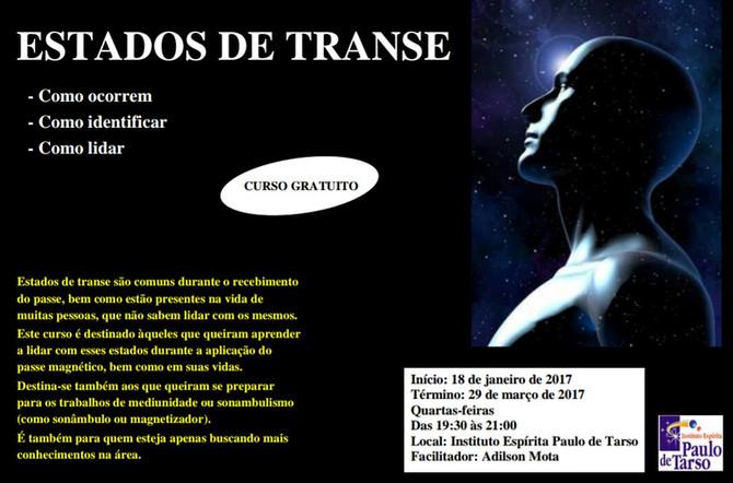 """CURSO 'ESTADOS DE TRANSE"""""""