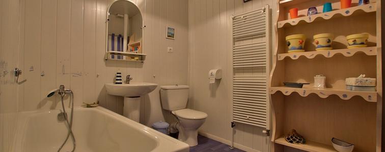 Salle de bains (Ver à Soie)