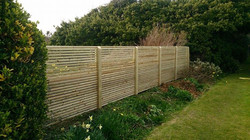 Custom made strip trellis