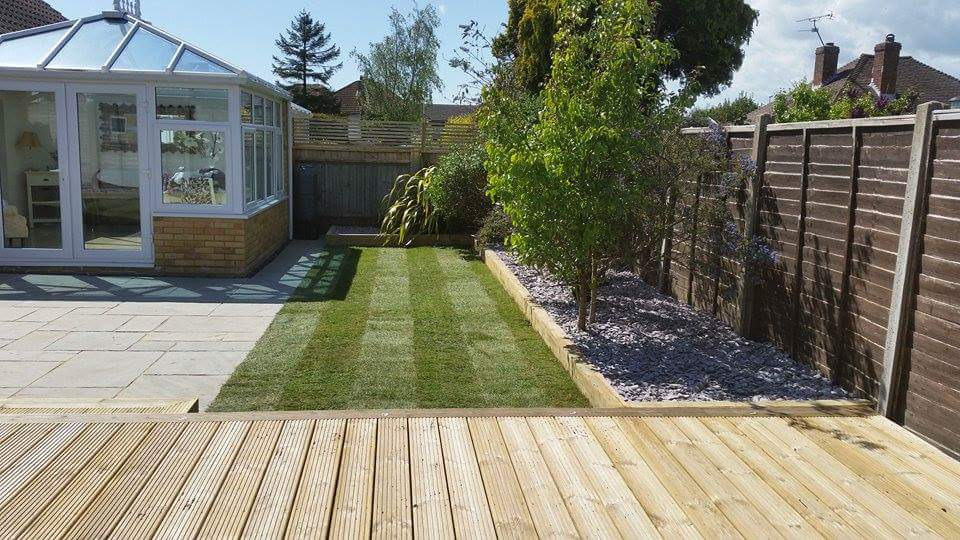 New hard wearing lawn