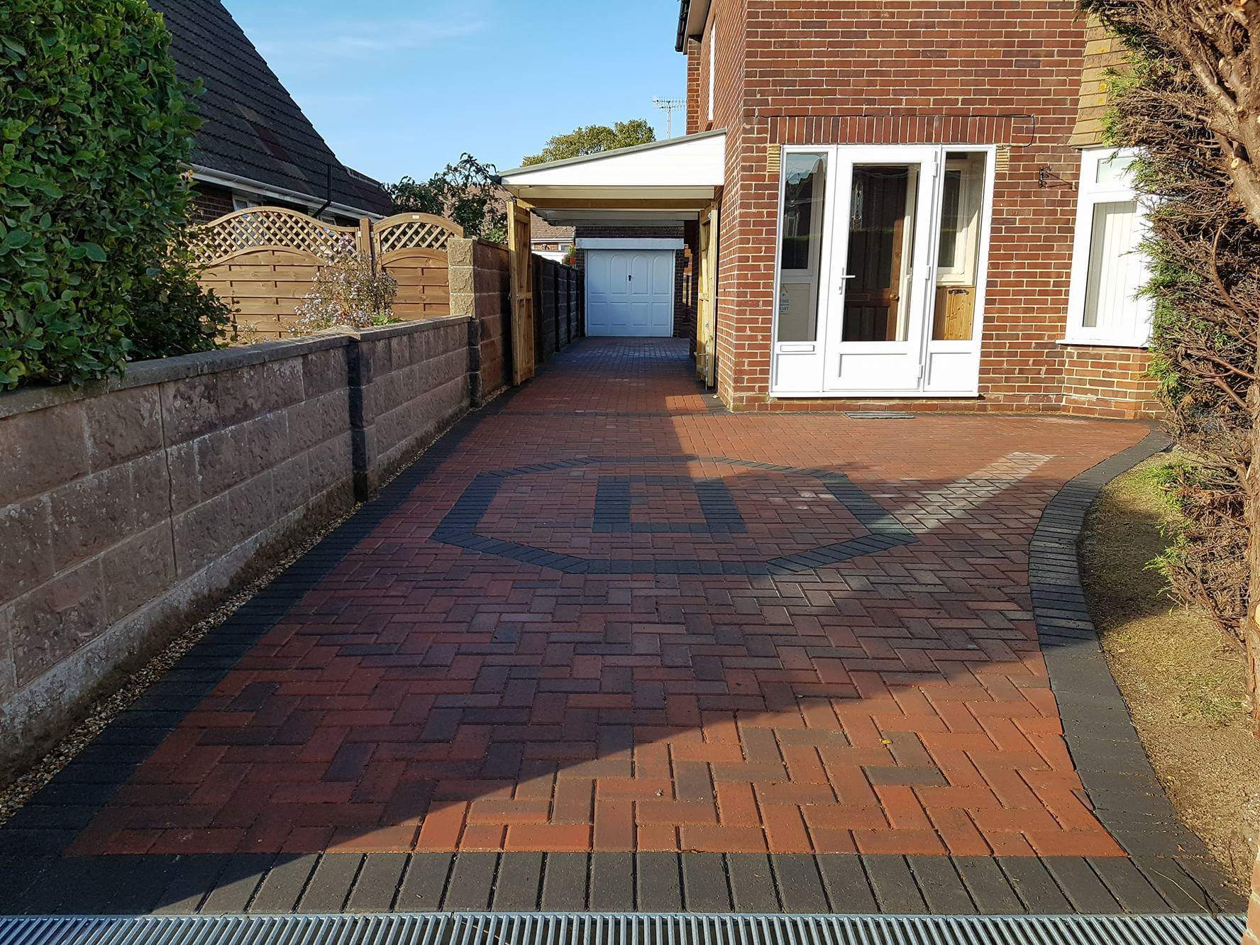 Brindle block paving drive