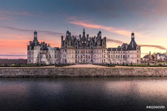 Kasteel van Chambord in de Loire streek