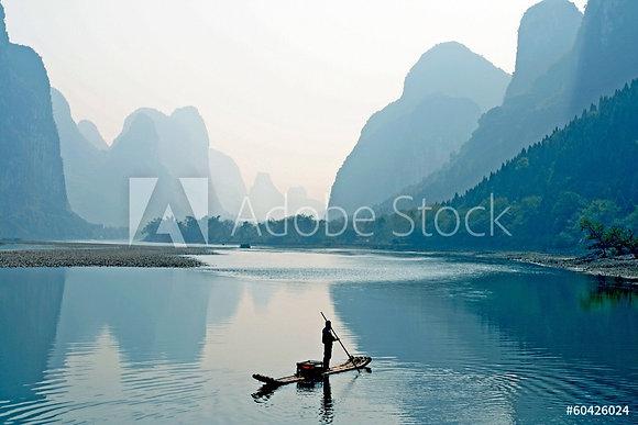 Guilin landschap