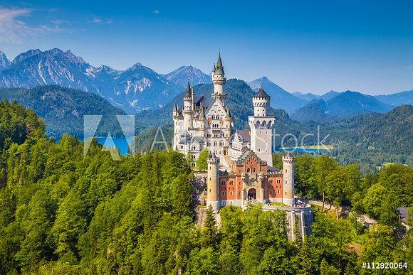 Slot Neuschwanstein in Beieren