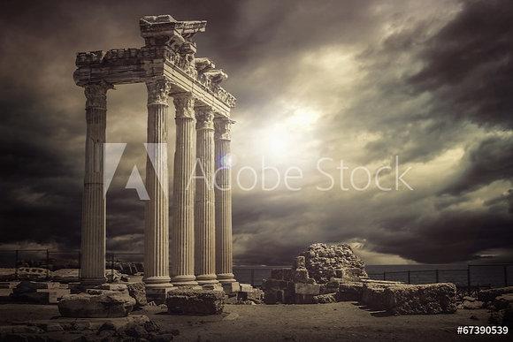 Tempel van Apollo in Antalya