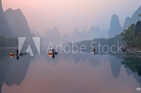 De rivier Li in China