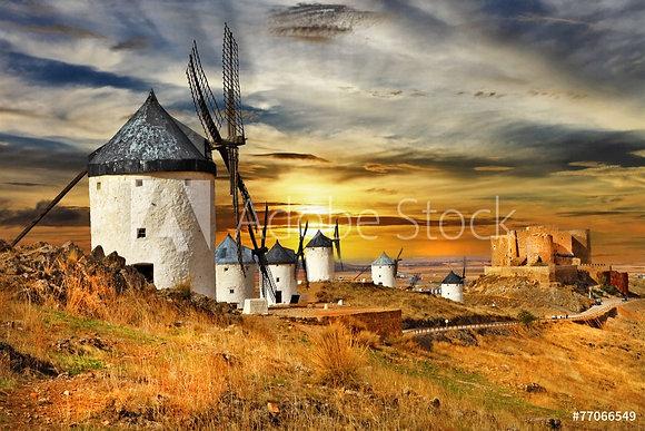 Spaanse windmolens