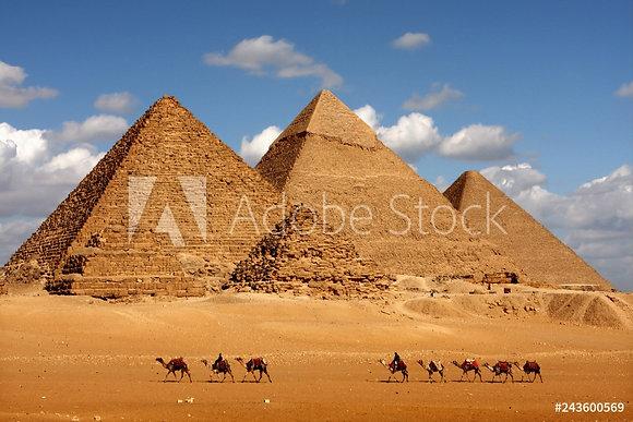 Giza piramide - Caïro