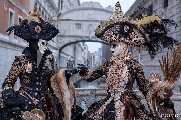 Verkleed in Venetië