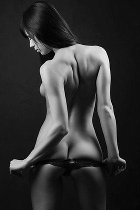 Sexy vrouwenrug