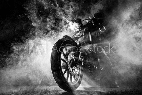 Chopper omhuld in rook