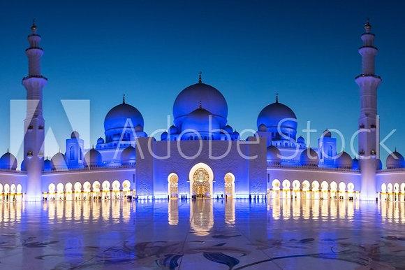 Sjeik Zayed-moskee in Abu Dhabi