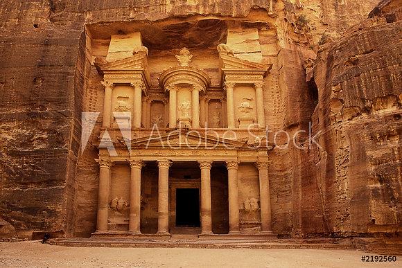 Petra- Jordanië