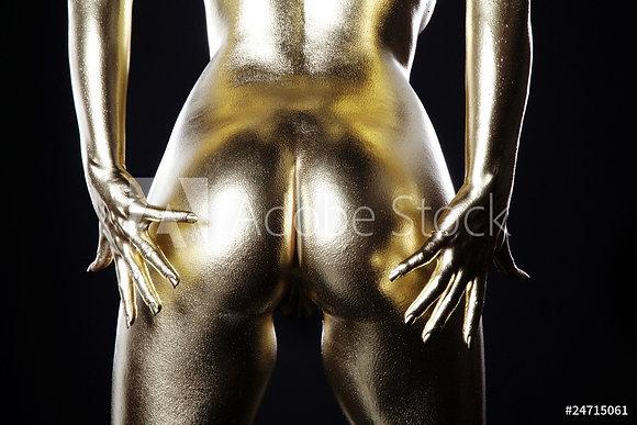 Gouden achterwerk