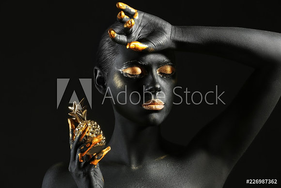 Black body painted