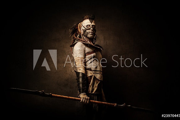 Indiaanse krijger