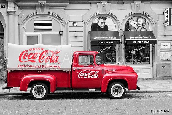 Coca Cola Car