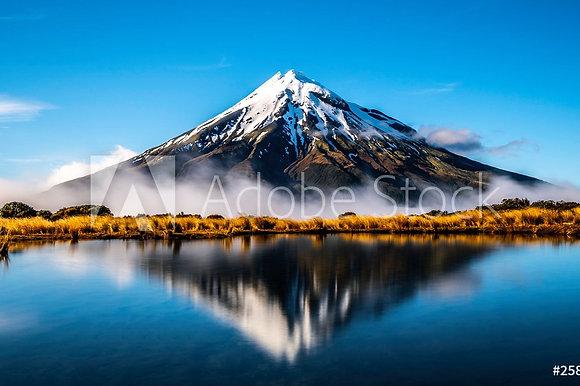 Mount Taranaki in Nieuw Zeeland