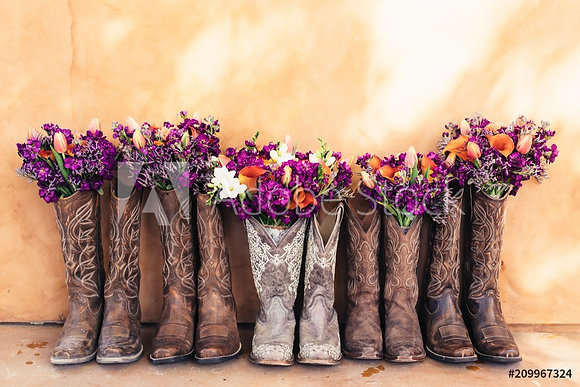 Boots & Flowers