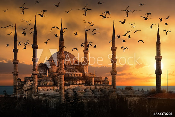 Moskee - Istanbul