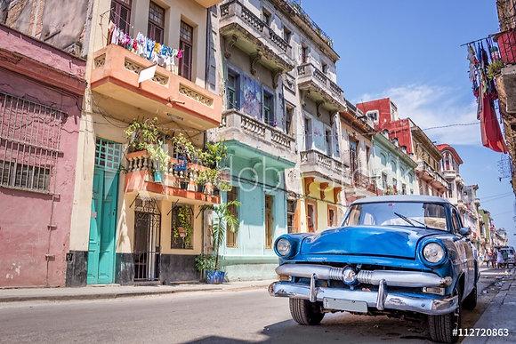 Amerikaanse oldtimer in Havana