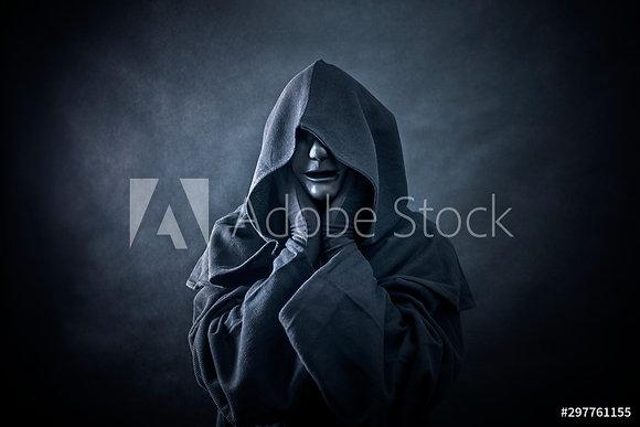 Ghostly man