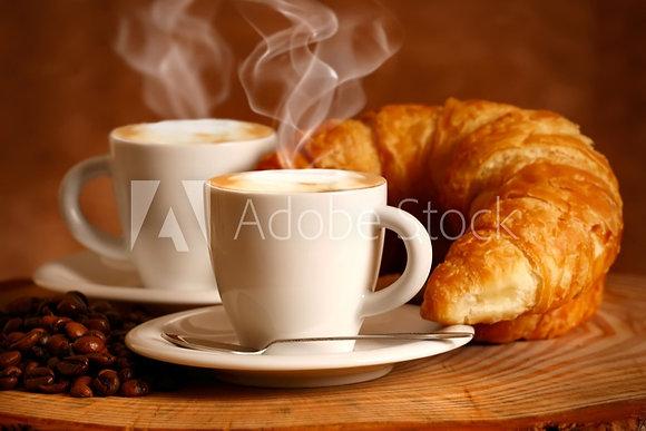Koffie Croissant