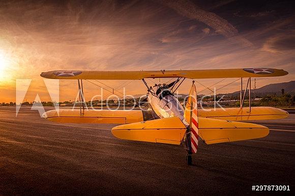 Oldtimer aircraft