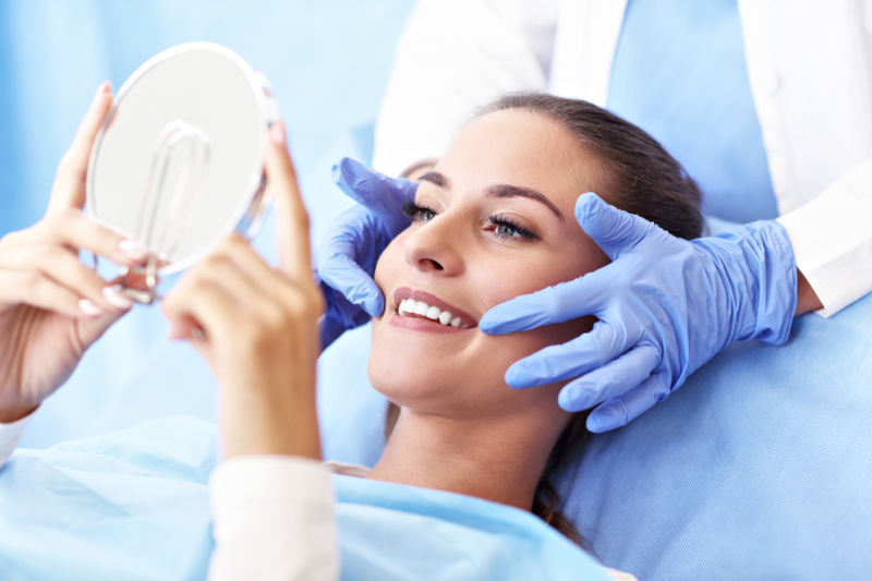 patient with Manassas emergency dentist