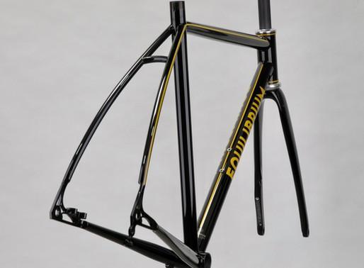 Mr.I's EQUILIBRIUM custom steel road bike frame